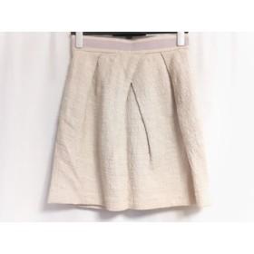 【中古】 ナラカミーチェ NARACAMICIE ミニスカート サイズ1 S レディース ピンク パープル Rosa