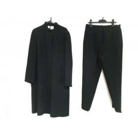 【中古】 ダナキャラン DKNY レディースパンツスーツ サイズ12 L レディース 黒