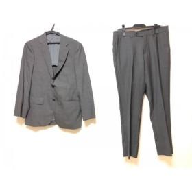 【中古】 グリーンレーベルリラクシング green label relaxing シングルスーツ サイズ44 L メンズ グレー
