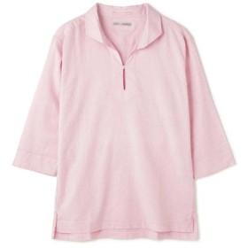 【50%OFF】 トルネードマート BLUE TORNADO∴C/Lストレッチ7スリーブカプリシャツ メンズ ピンク L 【TORNADO MART】 【セール開催中】