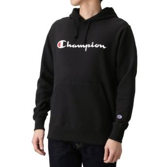 【35%OFF】 マックハウス Champion チャンピオン プルオーバーパーカー C3 J117 メンズ ブラック L 【MAC HOUSE】 【タイムセール開催中】