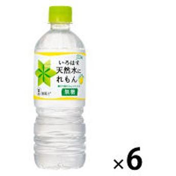 コカ・コーラ いろはす 天然水にレモン 555ml 1セット(6本)