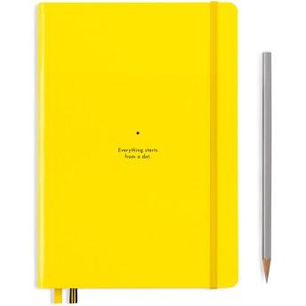 ロイヒトトゥルム バウハウス ノートブック A5 レモン