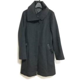 【中古】 ジネス Jines コート サイズ38 M レディース ダークグレー 冬物