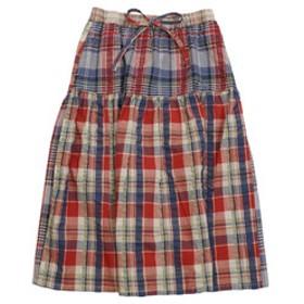 【Super Sports XEBIO & mall店:スカート】マドラス チェック フレア スカート 1847403L-4-PNK