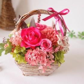 florist燦カジュアルプリザ♪母の日デコフレームアレンジ