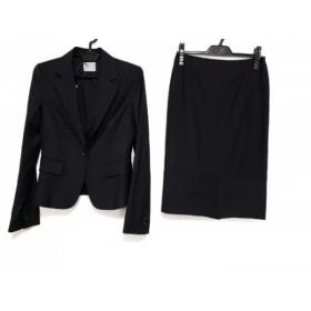 【中古】 セオリーリュクス theory luxe スカートスーツ レディース 美品 黒 肩パッド