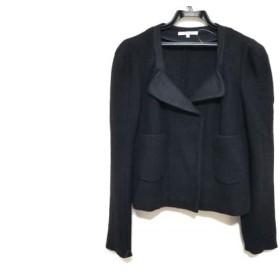 【中古】 カルヴェン CARVEN ジャケット サイズ36 S レディース 黒