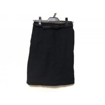 【中古】 ナラカミーチェ NARACAMICIE スカート サイズ0 XS レディース 黒