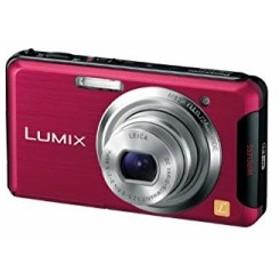 【中古 良品】 Panasonic デジタルカメラ ルミックス Wi-Fi搭載 レッド DMC