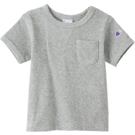 キッズ パイルTシャツ 19SS キャンパス チャンピオン(CS4973)【5400円以上購入で送料無料】