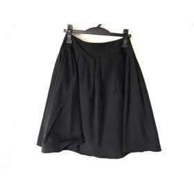 【中古】 ティアクラッセ Tiaclasse スカート レディース 黒