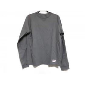 【中古】 グッドイナフ GOOD ENOUGH 長袖Tシャツ サイズS メンズ グレー