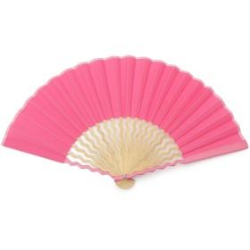 GIZAGIZA 扇子 ピンク