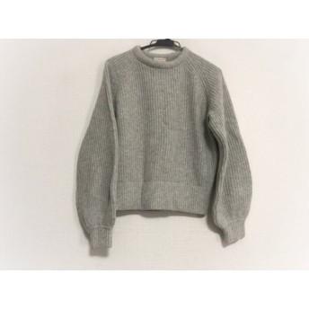【中古】 デミリー demylee 長袖セーター サイズXS レディース ライトグレー ショート丈