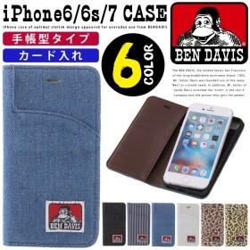 iPhone8 iPhoneケース 手帳型ケース iPhone7ケース iPhone6ケース iPhoneカバー BEN DAVIS ベンデイビス 手帳型 スマホケース iPhone