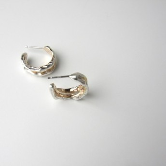 Melting pierced earrings/メルティングピアス