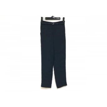 【中古】 ニジュウサンク 23区 パンツ サイズ30 XS レディース 美品 ダークグレー