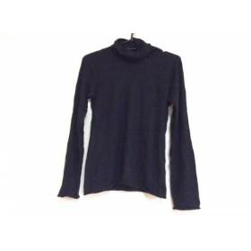 【中古】 ジョルジオアルマーニ GIORGIOARMANI 長袖セーター サイズ42 M レディース 黒 カシミヤ