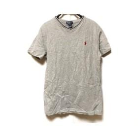 【中古】 ポロラルフローレン POLObyRalphLauren 半袖Tシャツ サイズL メンズ グレー