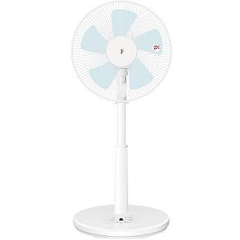 山善 リビング扇風機 リモコン付き [5枚羽根] YLRAG303