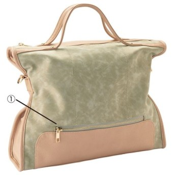 60%OFF2WAYバッグ(A4サイズ対応) ■カラー:ベージュ系