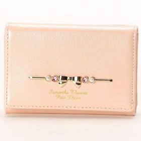 [マルイ] パールエナメルリボンシリーズ 折財布/サマンサタバサプチチョイス(Petit Choice)