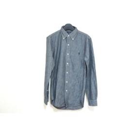 【中古】 ラルフローレン RalphLauren 長袖シャツ サイズS/P S メンズ 美品 グレー