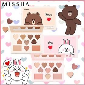 【ネコポス・送料無料】 ミシャ MISSHA [ラインフレンズエディション] カラー フィルター シャドウ パレット [Line Friends Edition]