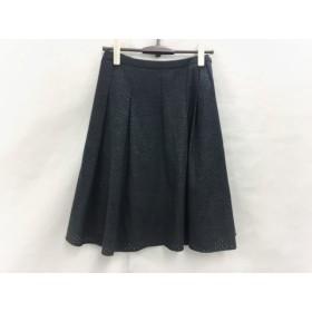 【中古】 アマカ AMACA スカート サイズ38 M レディース グレー