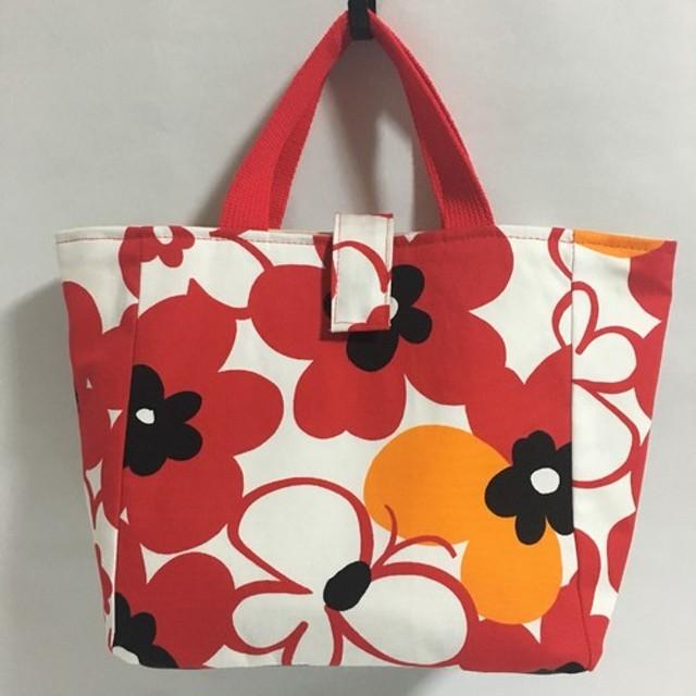 トートバッグ【花と蝶】