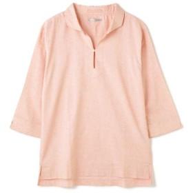 【50%OFF】 トルネードマート BLUE TORNADO∴C/Lストレッチ7スリーブカプリシャツ メンズ オレンジ L 【TORNADO MART】 【セール開催中】