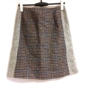 【中古】 マッキントッシュフィロソフィー MACKINTOSH PHILOSOPHY スカート サイズ38 L レディース 美品