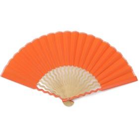 GIZAGIZA 扇子 オレンジ