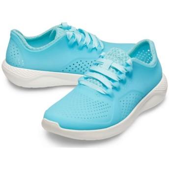 【クロックス公式】 ライトライド ルミナス ペイサー ウィメン LiteRide Luminous Pacer W ウィメンズ、レディース、女性用 ブルー/青 21cm,22cm,23cm,24cm,25cm shoe 靴 シューズ