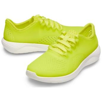 【クロックス公式】 ライトライド ルミナス ペイサー ウィメン LiteRide Luminous Pacer W ウィメンズ、レディース、女性用 グリーン/緑 21cm,22cm,23cm,24cm,25cm shoe 靴 シューズ