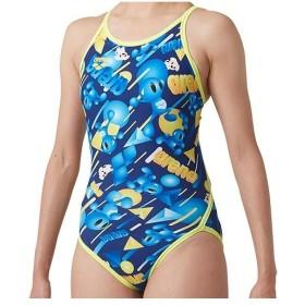 483925fad4d アリーナ(arena) レディース 競泳水着 TOUGHSUIT スーパーフライバック ネイビー/ブルー×K