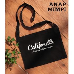 【セール開催中】ANAP(アナップ)californiaプリントサコッシュバッグ