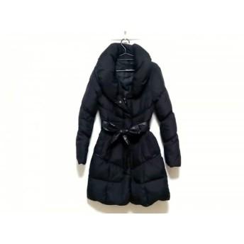 【中古】 メイソングレイ MAYSON GREY ダウンコート サイズ1 S レディース 黒 冬物
