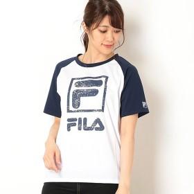 [マルイ] ラグラン切替 半袖Tシャツ/フィラ(FILA)