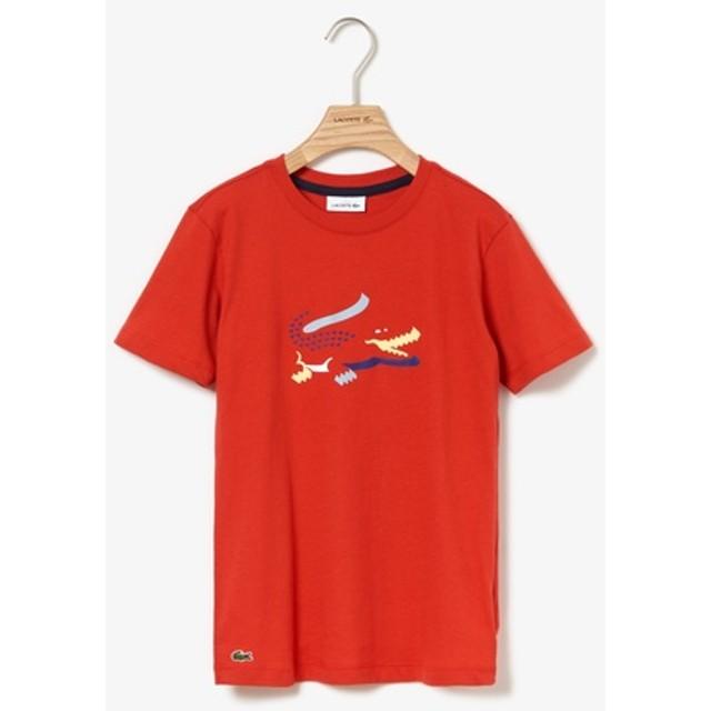 3DシルエットロゴプリントボーイズTシャツ