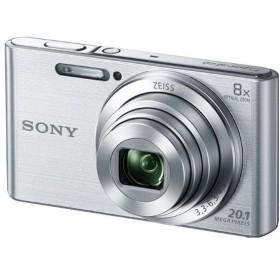 SONY ソニー デジタルカメラ Cyber-shot シルバー DSCW830 送料無料