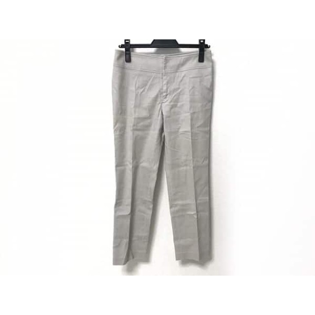 【中古】 ダーマコレクション DAMAcollection パンツ サイズ30 XS レディース ライトグレー 麻混