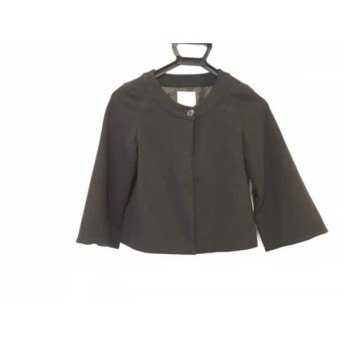【中古】 アナトリエ anatelier ジャケット サイズ38 M レディース 黒