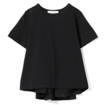 Ray BEAMS / バック フレア クルーネック Tシャツ レディース Tシャツ BLACK ONE SIZE
