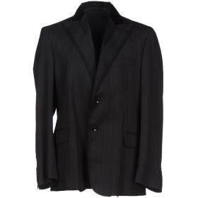《期間限定セール開催中!》DANIELE ALESSANDRINI メンズ テーラードジャケット ブラック 48 ウール 37% / ポリエステル 30% / レーヨン 30% / ポリウレタン 3%