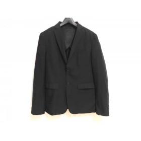 【中古】 ハレ HARE ジャケット サイズS メンズ 黒 肩パッド