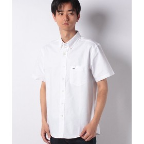 【25%OFF】 エドウィン EDWIN ボタンダウンシャツ 半袖(オックスフォード) メンズ ホワイト L 【EDWIN】 【セール開催中】