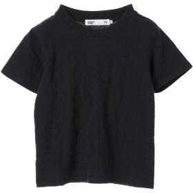 【5,000円以上お買物で送料無料】kids Bリーフ柄ジャガードTシャツ