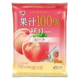 エースベーカリー 果汁100%ゼリー ピーチ 17個
